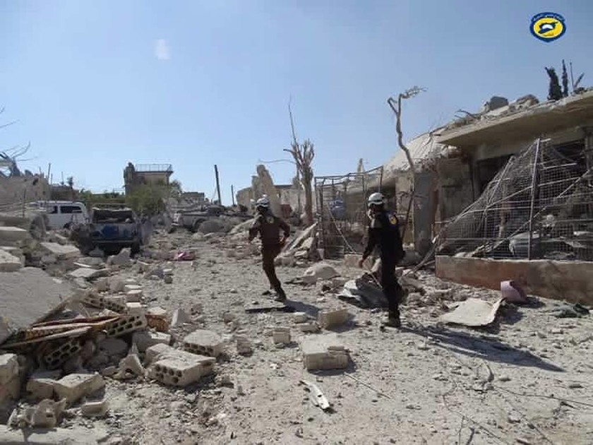 Βίντεο-Σοκ: Βομβάρδισαν σχολείο στη Συρία–Νεκρά 22 παιδιά και 6 δάσκαλοι (ΠΡΟΣΟΧΗ! Σκληρές εικόνες)