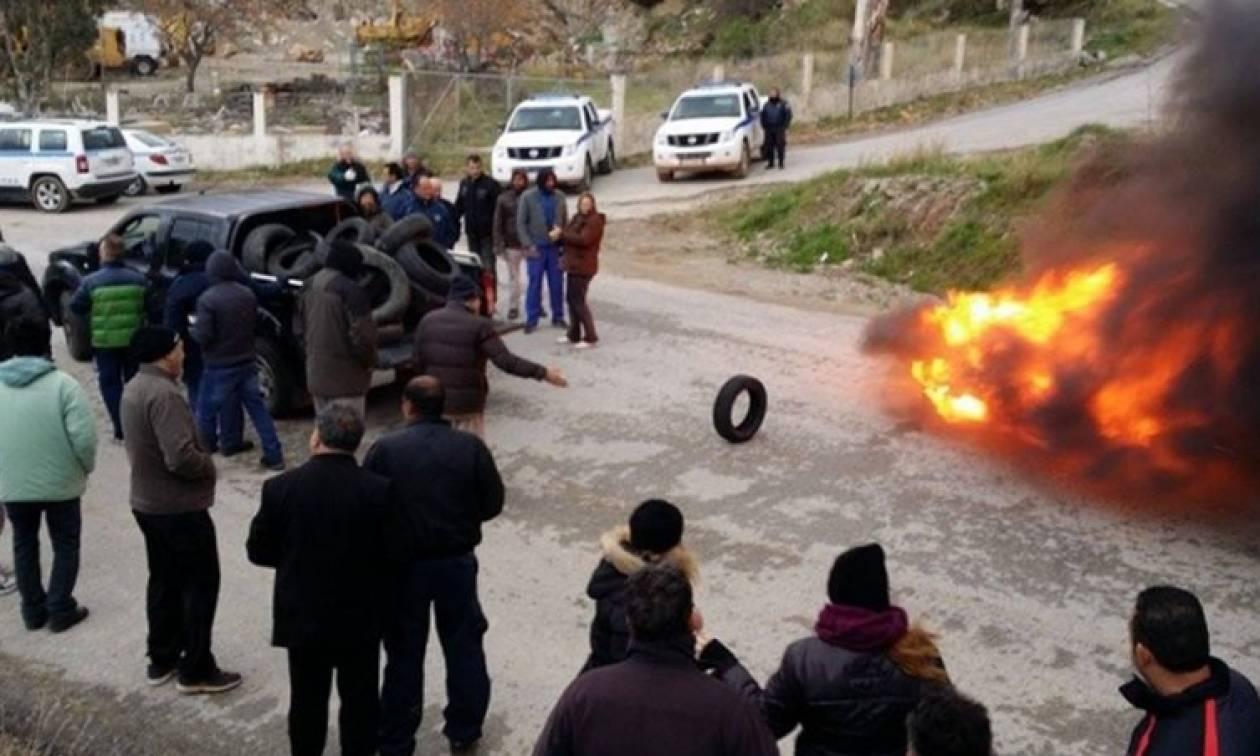 Συλλήψεις μεταναστών για τα επειδόδια στα hot spots της Σάμου και της Χίου