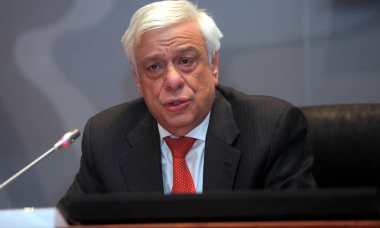 Πρ. Παυλόπουλος: Πως είναι δυνατόν να αποφασίζει μόνο το Eurogroup για τα μνημόνια;