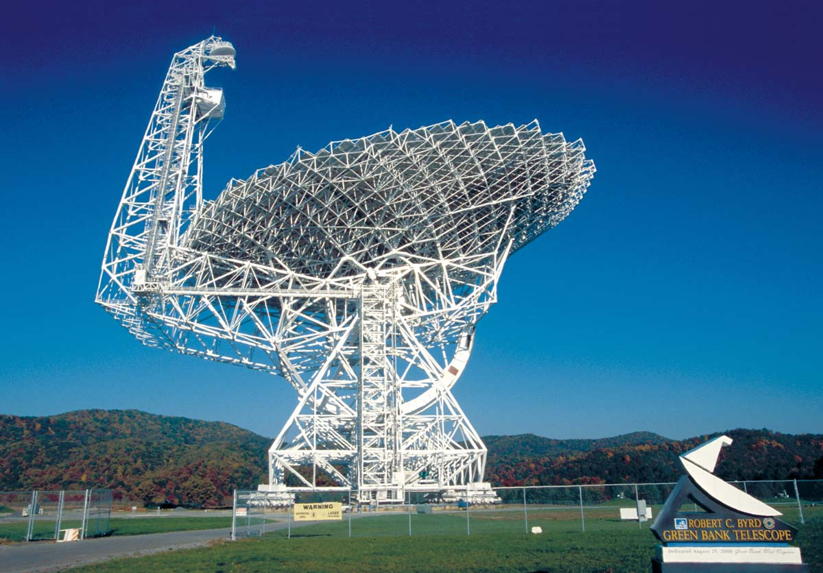 ΤηλεσκόπιοGreenBankΠηγήNRAO NSF 1