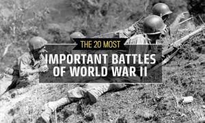 28η Οκτωβρίου: Οι είκοσι μάχες που έκριναν τον Β΄ Παγκόσμιο Πόλεμο