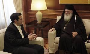 28η Οκτωβρίου: Στον Άγιο Ευστράτιο Τσίπρας και Αρχιεπίσκοπος Ιερώνυμος