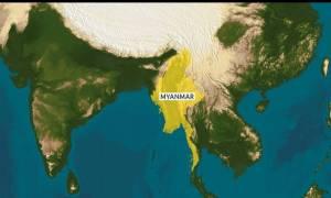 Συντριβή αεροσκάφους ανοικτά της Μιανμάρ