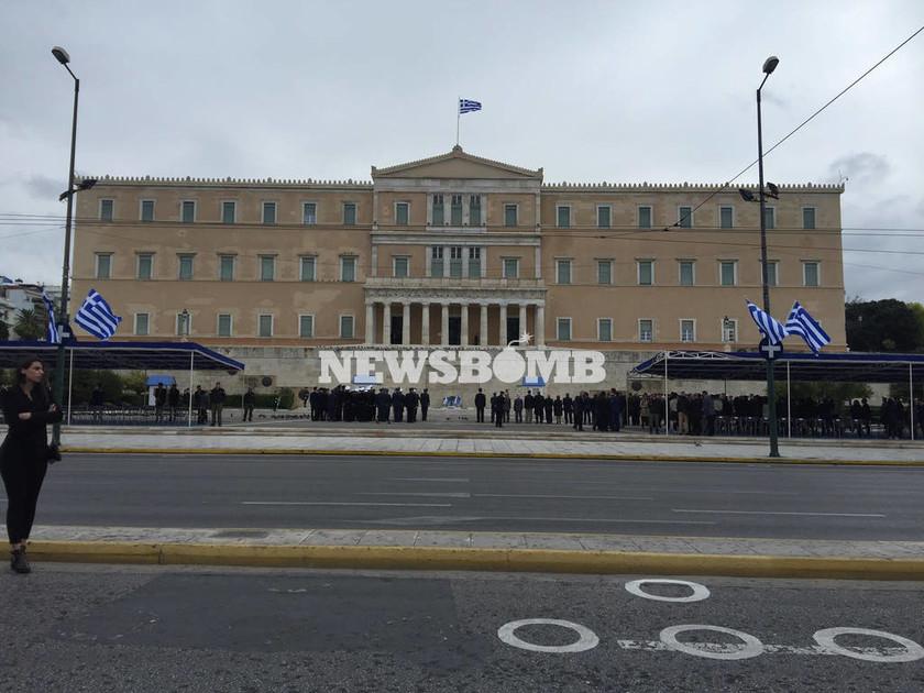 Ολοκληρώθηκε η μαθητική παρέλαση στην Αθήνα (photo)