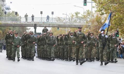 28η Οκτωβρίου: Με λαμπρότητα πραγματοποιήθηκε η στρατιωτική παρέλαση στη Θεσσαλονίκη (vid+pics)