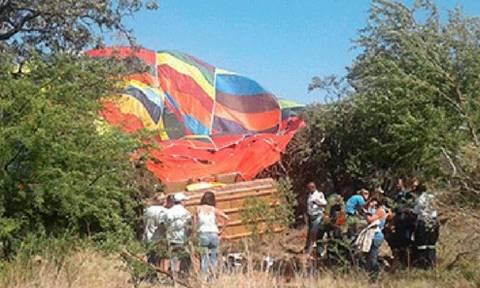Θρήνος! Νεκρή 48χρονη - Έπεσε από αερόστατο μπροστά στα μάτια των παιδιών της