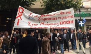 28η Οκτωβρίου - Αγρίνιο: Την παρέλαση ακολούθησαν πανό και συνθήματα (pics&vid)