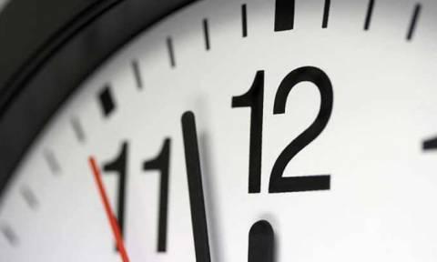 Μια ώρα πίσω γυρίζουμε τα ρολόγια