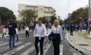 28η Οκτωβρίου: Η συνοδός της παρέλασης που έκλεψε τα βλέμματα στα Χανιά (pics)