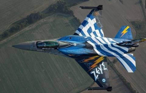 """Γνωρίστε την Ομάδα Αεροπορικών Επιδείξεων F-16 """"Ζευς"""" (pics+vid)"""