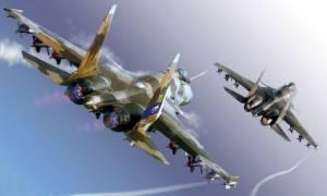 Παρ' ολίγον σύγκρουση στο αέρα: Ρωσικά και αμερικανικά μαχητικά «παίζουν με τη φωτιά» στη Συρία