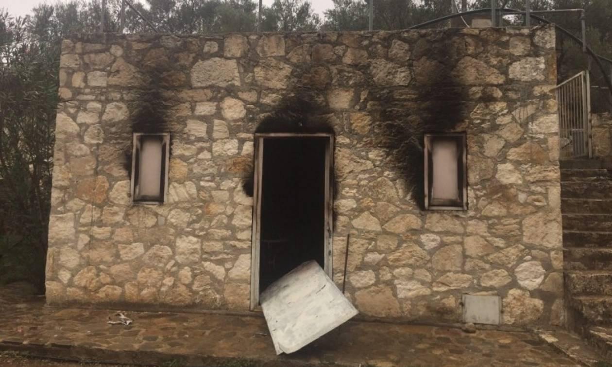 Χανιά: Εμπρηστική επίθεση σε αποθηκευτικό χώρο των «Νεραϊδών» στα Κεραμειά (pics)