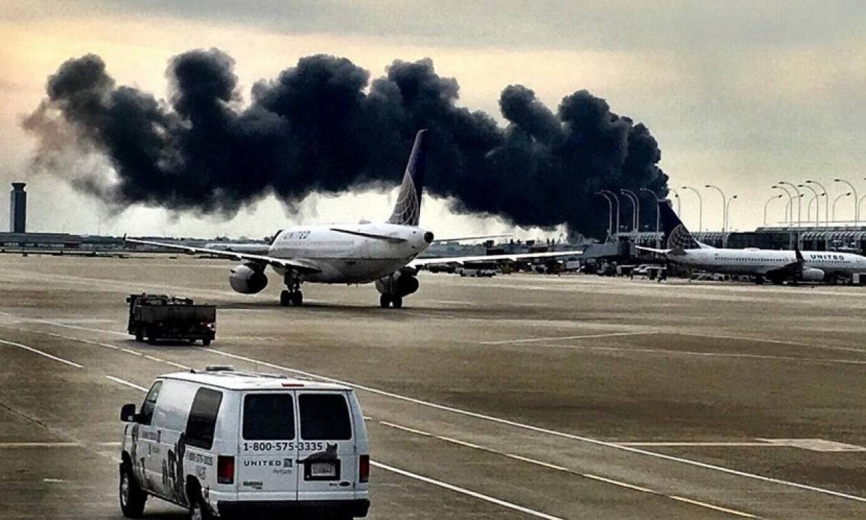 ΗΠΑ: Μεγάλη πυρκαγιά σε επιβατηγό αεροσκάφος των American Airlines (Pics+Vid)