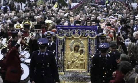 Η εικόνα της Παναγίας Βηματάρισσας στον Βόλο