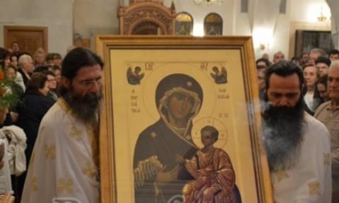 Η εικόνα της Παναγίας της Πορταϊτισσας  στον Άγιο Δημήτριο Αττικής