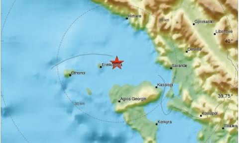 Σεισμός 4,1 Ρίχτερ στην Κέρκυρα (pics)