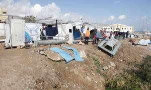 Πεδίο μάχης η Χίος - Νέα συμπλοκή μεταναστών