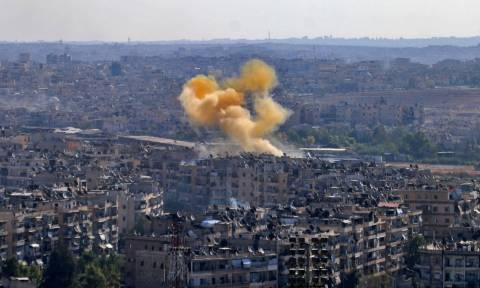 Συγκλονιστικό βίντεο: Στη δίνη του πολέμου το Χαλέπι - 38 άμαχοι νεκροί από επίθεση με ρουκέτες