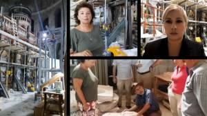 Αποκλειστικό CNN Greece: Οι εργασίες αποκατάστασης του Παναγίου Τάφου