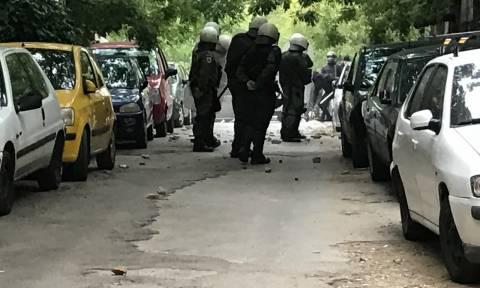 Επεισόδια στο κέντρο της Αθήνας - Σύγκρουση αστυνομικών με αντιεξουσιαστές (photo)