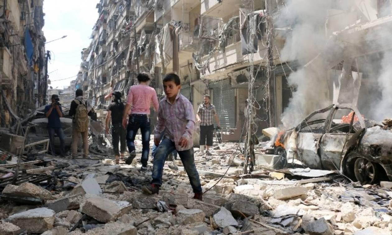 Συρία: Δεκάδες άμαχοι νεκροί από βομβαρδισμούς στο δυτικό Χαλέπι
