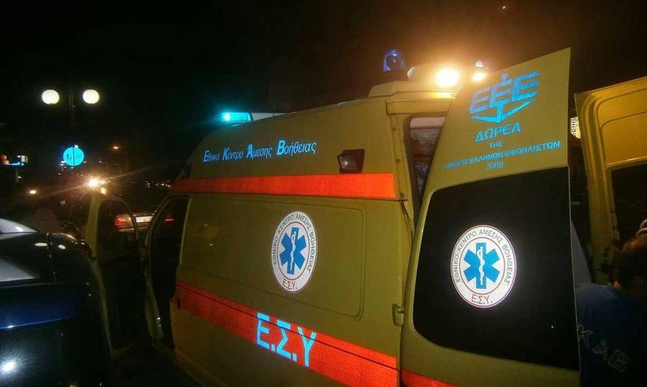 Σοβαρό τροχαίο με τραυματίες στα Τρίκαλα