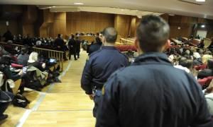 Δίκη Χρυσής Αυγής: Εντάσεις, συνθήματα και τελικά... οριστική διακοπή