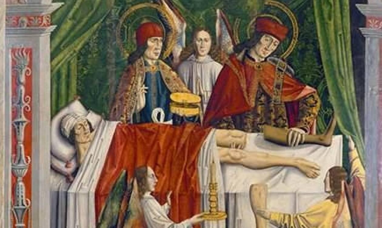Συγκλονιστικό! Οι Άγιοι Ανάργυροι έκαναν την πρώτη μεταμόσχευση στον κόσμο