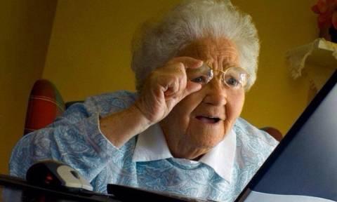 Κι όμως, συμβαίνουν κι αυτά: 86χρονη κατηγορείται για παράνομο downloading!