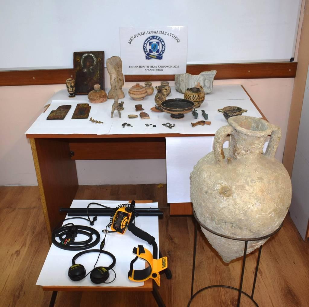 Ραντεβού αρχαιοκάπηλων στο κέντρο της Αθήνας για αρχαία 200.000 ευρώ!
