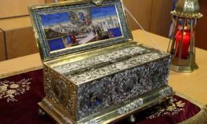 Η Τίμια Ζώνη της Παναγίας στη Μητρόπολη Καλαμαριάς