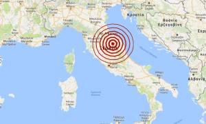 Σεισμός 4,7 Ρίχτερ στην κεντρική Ιταλία (pic)