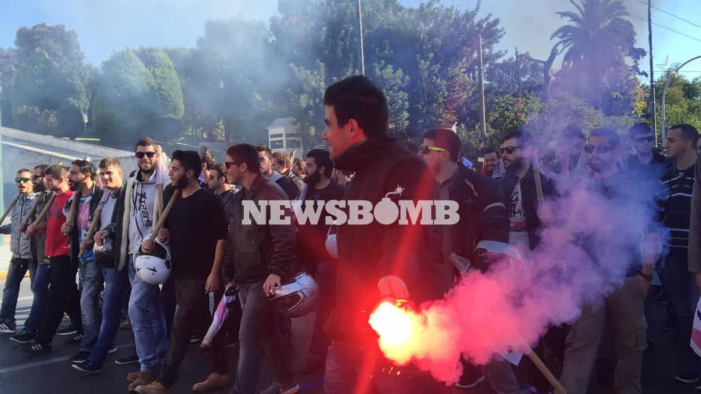 Στους δρόμους οι φοιτητές ενάντια στην υποχρηματοδότηση των Πανεπιστημίων (pics)