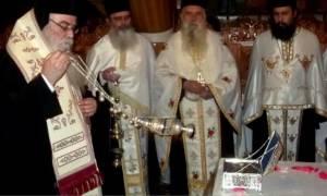 Υποδοχή Λειψάνων Αγ. Γεωργίου του Τροπαιοφόρου στον Γέρμα Καστοριάς