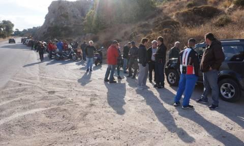 Βροντάδος Χίου: Κάτοικοι παρεμπόδισαν τις εργασίες Κέντρου Κράτησης παραβατικών μεταναστών