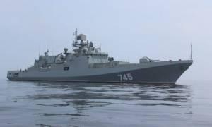 Η νέα ρωσική φρεγάτα «Ναύαρχος Γκρικόροβιτς» με πυραύλους κρουζ κατευθύνεται στη Συρία