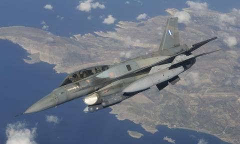 Σκληρές αερομαχίες στο Αιγαίο: Τουρκικά F–16 πάνω από τη Μυτιλήνη (vid)