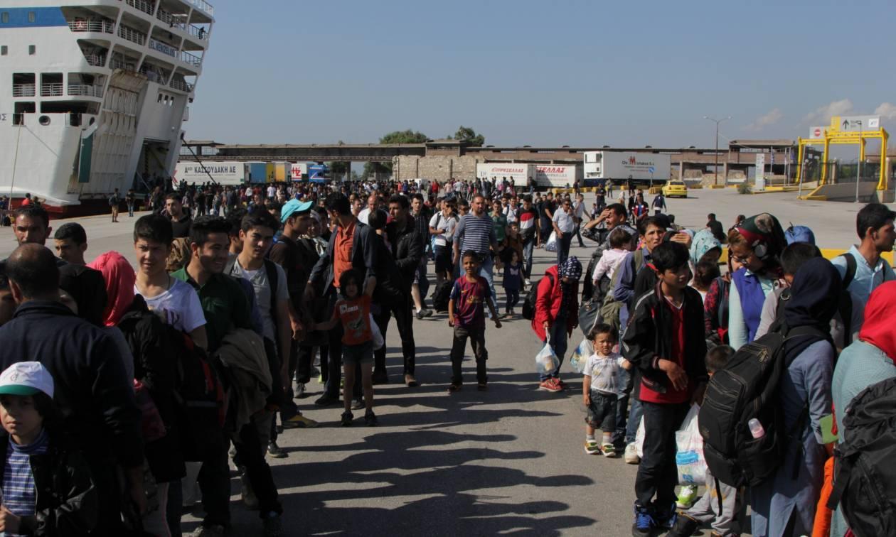 Πάνω από 5.000 πρόσφυγες έχουν μετεγκατασταθεί από την Ελλάδα σε άλλες χώρες της Ε.Ε.