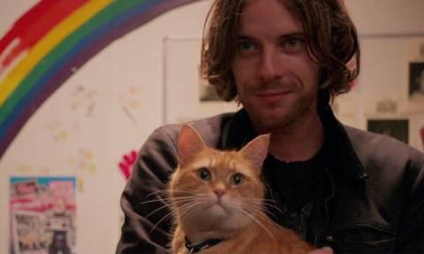 Η συγκινητική φιλία ενός άστεγου με έναν γάτο που έγινε ταινία (videos)