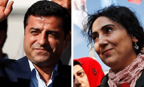 Turkey HDP: Blast after pro-Kurdish leaders Demirtas and Yuksekdag detained
