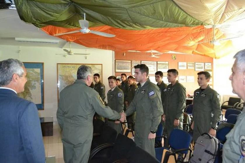 Πολεμική Αεροπορία: Επίσκεψη Αρχηγού ΓΕΑ στο ΚΕΑΤ και στην 120ΠΕΑ (pics)