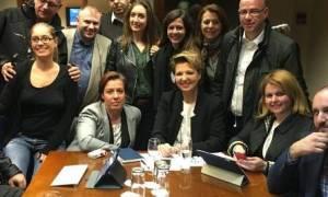 Ανασχηματισμός: Το συγκινητικό «αντίο» της Γεροβασίλη στους συνεργάτες της (photo)