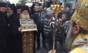 Η Ζώνη της Παναγίας στην Πάτρα (vid)