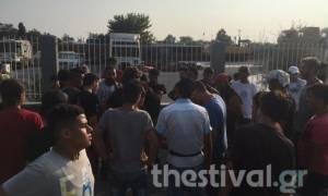 Θεσσαλονίκη: Ένταση και χειροδικίες στο κέντρο φιλοξενίας προσφύγων