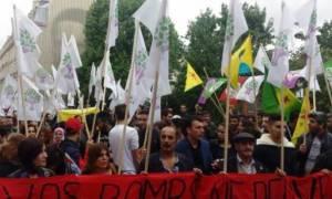 Γαλλία: Οι Κούρδοι διαδηλώνουν κατά της καταστολής στην Τουρκία