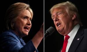 Αμερικανικές εκλογές 2016: Τραμπ εναντίον Κλίντον - Αντίστροφη μέτρηση για την ιστορική μονομαχία