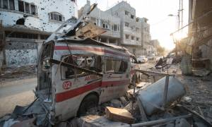 Εικόνες φρίκης στο Ιράκ: Τζιχαντιστές πυροδότησαν εκρηκτικά σε δύο ασθενοφόρα