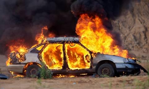 Ηράκλειο: Τραγικός θάνατος για 22χρονο - Κάηκε ζωντανός μέσα στο αυτοκίνητό του