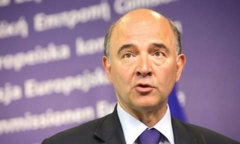 Eurogroup - Μοσκοβισί: Λύση για την Ελλάδα ως το Δεκέμβριο