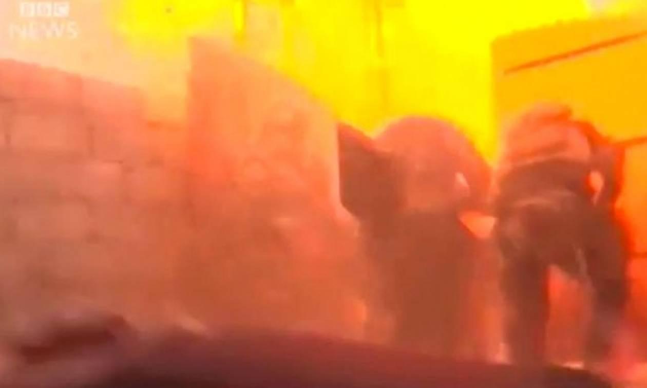 Βίντεο σοκ: Αυτοκίνητο-βόμβα εξερράγη μπροστά σε δημοσιογράφους στο Ιράκ